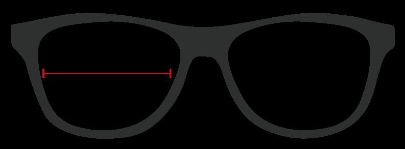 óculos de segurança graduado medidas