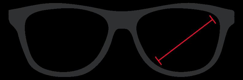 óculos de segurança graduado tamanho