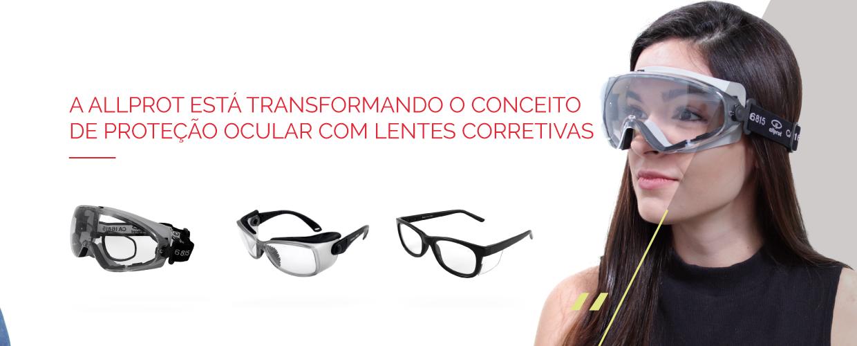 óculos de proteção com grau